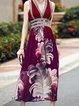Sleeveless Printed Boho Dress