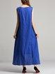 Floral-print Sleeveless Floral Maxi Dress