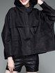 Hoodie Solid Pockets Casual Long Sleeve Coat