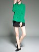 Green Casual Pockets Tunic