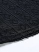 Guipure lace Floral Crew Neck 3/4 Sleeve Elegant A-line Maxi Dress
