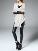 Ruffled Casual Batwing Knitted Cardigan