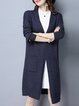 Simple Long Sleeve H-line Cardigan