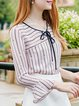Pink H-line Casual Blouse