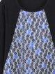 Long Sleeve Geometric Casual Cotton-blend Tunic