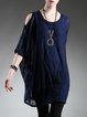 Blue Shift  Cold Shoulder Mini Dress