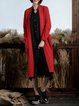 H-line Long Sleeve Solid Coat