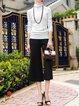 Elegant H-line Long Sleeved Top