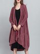 Long Sleeve Solid Shift Cardigan