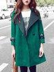 Green Casual Coat