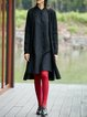 Simple Pockets Long Sleeve Knitted Cardigan