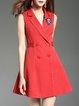 Casual Stripes Mini Dress