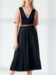 Sleeveless Casual Solid Jumpsuit