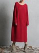 Bateau/boat Neck Casual Batwing Solid Knitted CLOTH