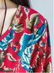 Printed Casual Floral Linen Dress