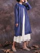 Long Sleeve H-line Linen Outerwear