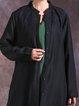 Long Sleeve Jacquard Linen Outerwear