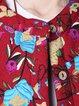 Casual H-line Linen Outerwear