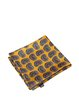 Yellow Abstract Printed Casual Scarf