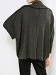 Green Casual Shift Sweater