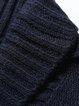 Casual Solid Shawl Collar Shorts Sleeve Cardigan