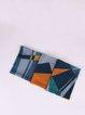 Color Block Casual Geometric Wool Scarf