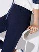 Simple Solid Skinny Leg Pants