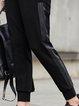 Printed Casual Skinny Leg Pants