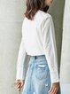Solid Simple Cotton Blouse