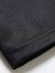 Black Printed Shift Polyester Long Sleeve Mini Dress