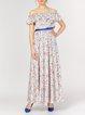 Multicolor Casual A-line Viscose Midi Dress
