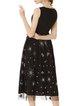 Sleeveless Casual Cotton Midi Dress