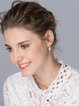 Silver Cubic Zirconia 925 Sterling Silver Earrings