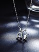 Silver 925 Sterling Silver Animal Necklace