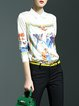 White Work Floral Blouse
