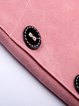 Polyester Pockets Buttoned V Neck Elegant Overall