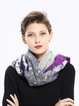 Multicolor Abstract Casual Scarf