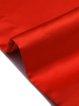 Red Elegant Pockets A-line Midi Skirt