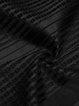 Black Slit Sleeveless H-line Vest