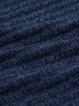 Deep Blue H-line Casual Cardigan
