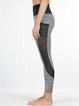 Gray Breathable Sports Bottom Leggings