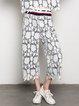 Elegant Guipure Lace Wide Leg Pants