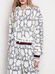 Long Sleeve Guipure Lace Hoodie