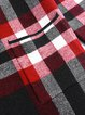 Checkered/Plaid Long Sleeve Casual Cardigan