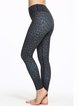 Black Stretchy Polyester Quick Dry Bottom Pants (Sportswear for Yoga)