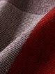 Stripes 3/4 Sleeve Turtleneck Cashmere Sweater