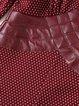 Wine Red Slit Casual Midi Dress