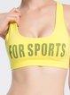 Yellow Sports Bra Sports Bras