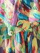 Boho Ruffled Frill Sleeve Maxi Dress