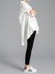 Asymmetrical Casual Long Sleeve Cotton Tunic